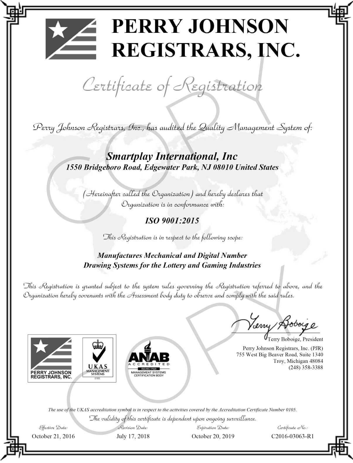 ISO_Smartplay_International_Final_Certificate